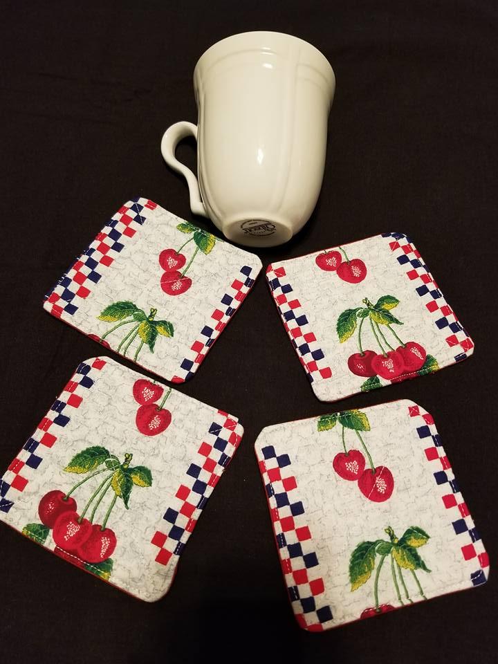 Cherry Coasters