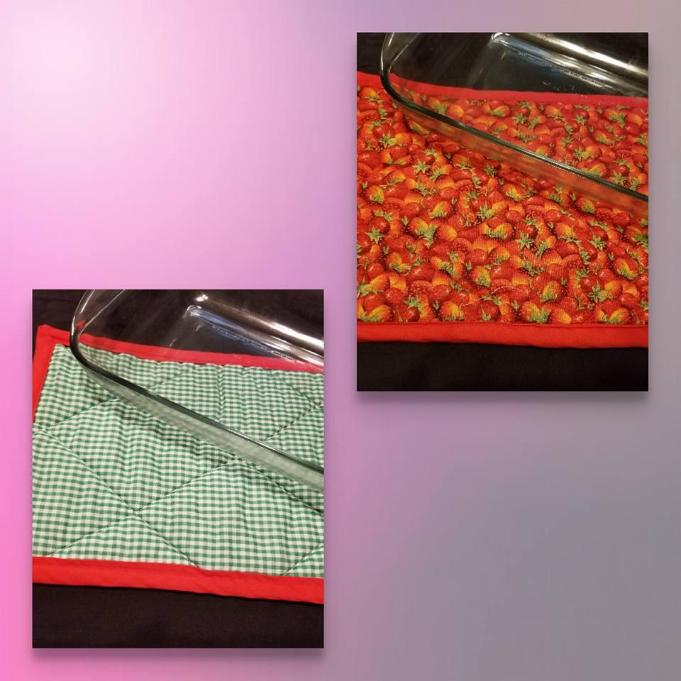 Strawberry Trivet