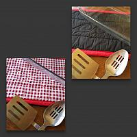 Red Checker Trivet