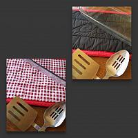 Red Checker Trivet