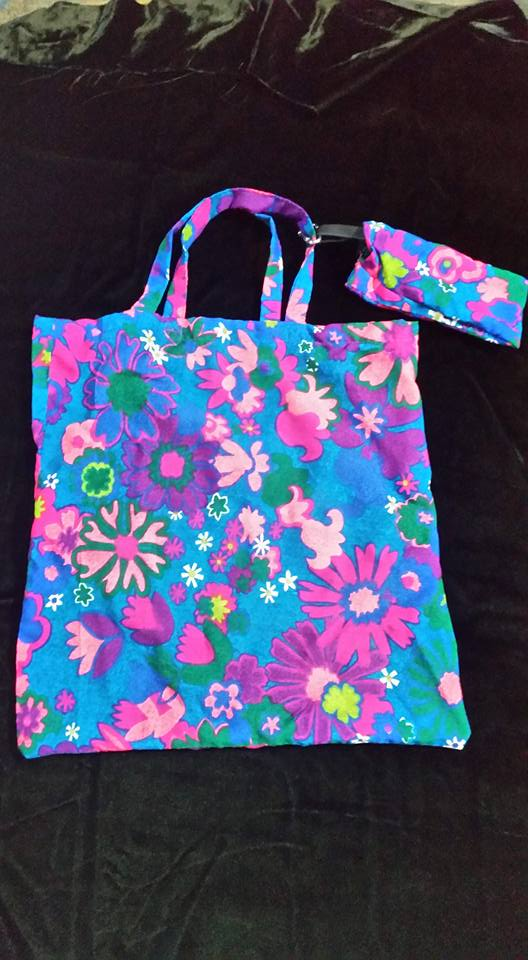 Flower Reusable Bag