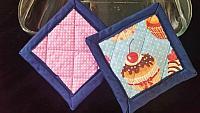 Cupcake Hotpads