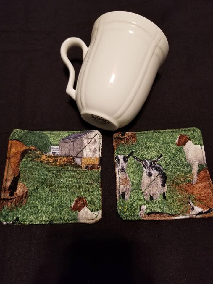 Goat Coasters