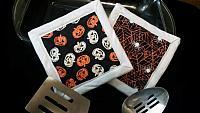 Halloween Glow in the Dark Hotpads