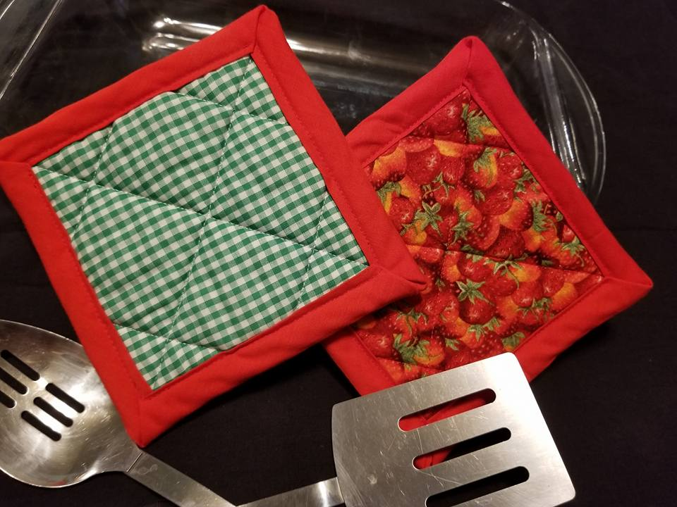 Strawberry Hotpads